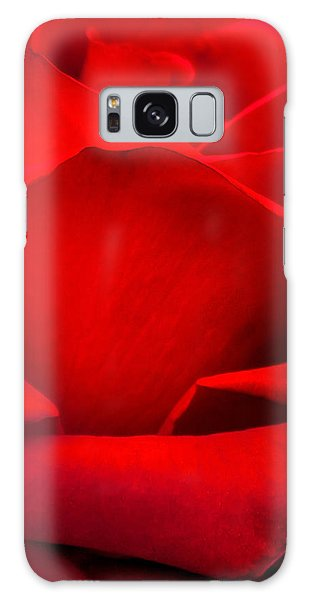 Calendar Galaxy Case - Red Rose Petals by Az Jackson