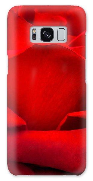 March Galaxy Case - Red Rose Petals by Az Jackson