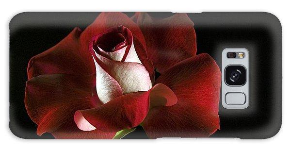 Red Rose Petals Galaxy Case