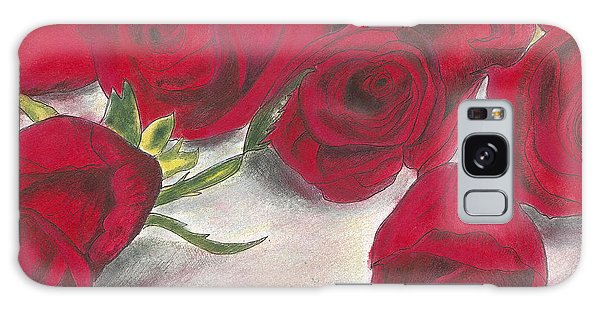 Red Rose Redux Galaxy Case