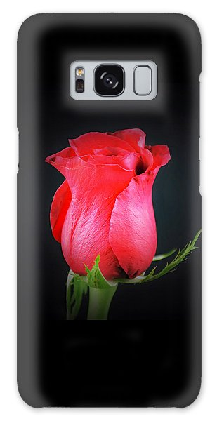 Red Rose Shows Love  Galaxy Case