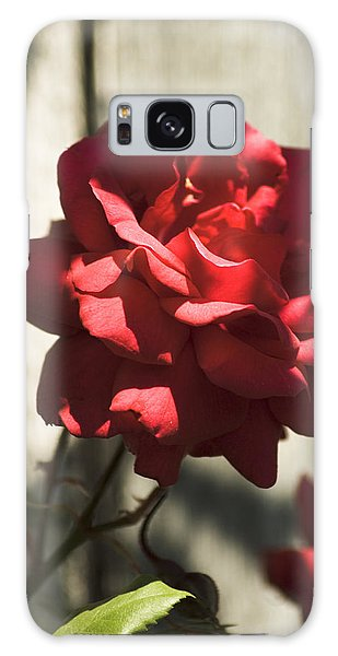 Red Rose Galaxy Case by Yulia Kazansky