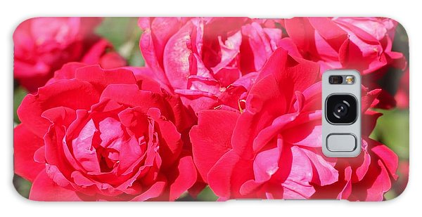 Red Roses 1 Galaxy Case
