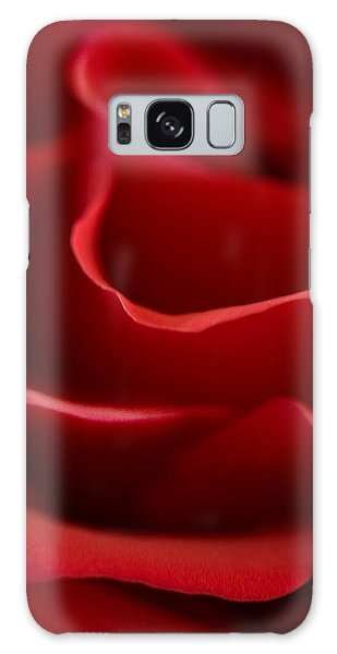 Red Roses V Galaxy Case by George Robinson