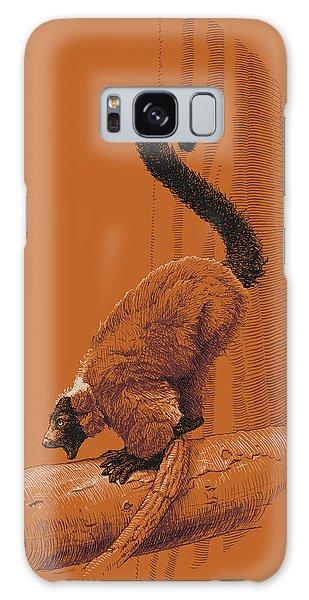 Screaming Lemur Galaxy Case