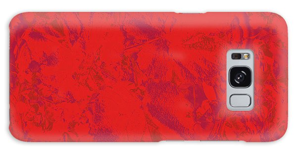 Galaxy Case featuring the photograph Red Rules by Nareeta Martin