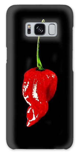 Red Scorpion Chilli Pepper Galaxy Case