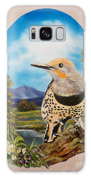 Flying Lamb Productions                       Red Shafted Flicker Galaxy Case