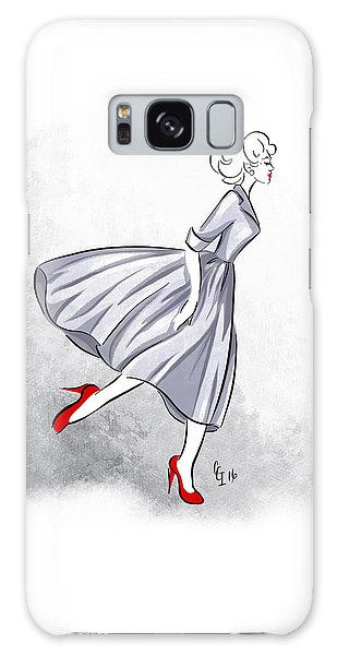 Red Shoes Red Lips Galaxy Case