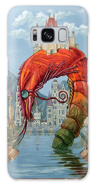 Red Shrimp Galaxy Case