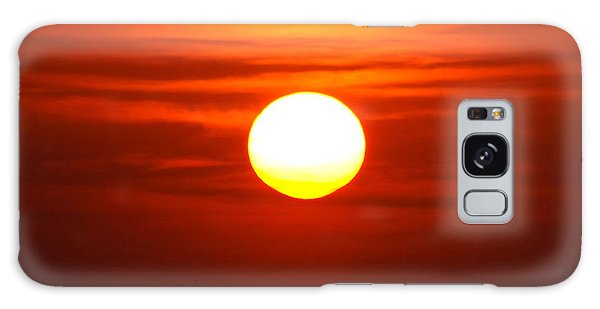 Red Sky Morning Galaxy Case