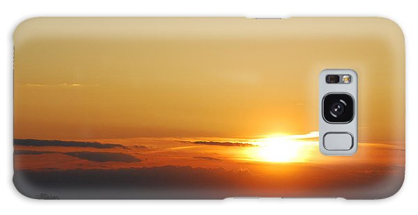 Red Sky Sunset Galaxy Case