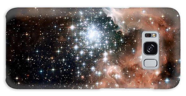 Red Smoke Star Cluster Galaxy Case