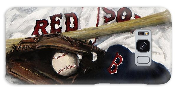 Boston Galaxy Case - Red Sox Number Nine by Jack Skinner