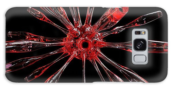 Red Spires Of Glass Galaxy Case