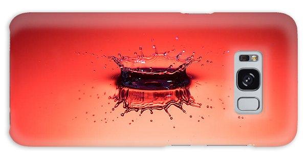 Red Splashdown Galaxy Case