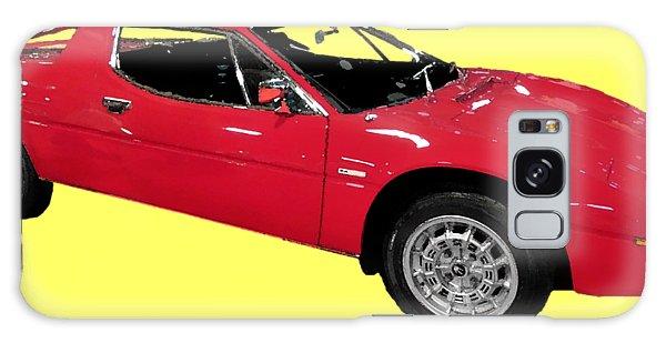 Red Sport Car Art Galaxy Case