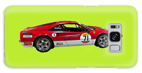 Red Sports Racer Art Galaxy Case