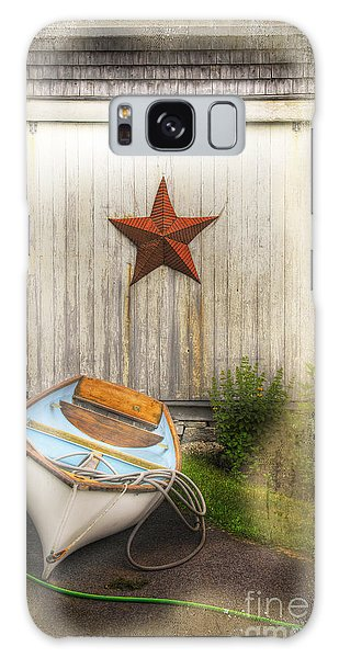 Red Star Boat Galaxy Case