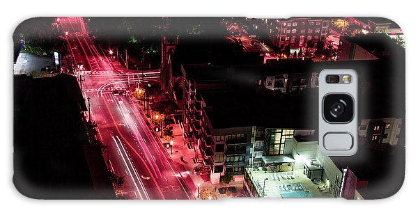 Red Streets Galaxy Case