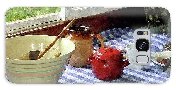 Red Sugar Bowl Galaxy Case by Susan Savad