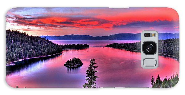 Red Tahoe Galaxy Case by Scott Mahon