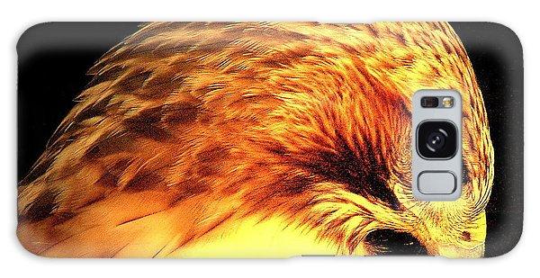 Red Tail Hawk  Galaxy Case