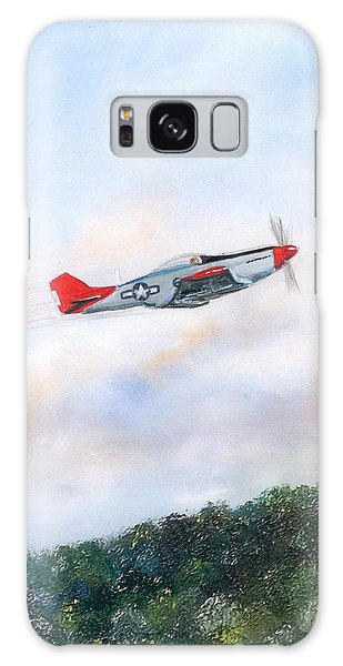 Red Tails Galaxy Case