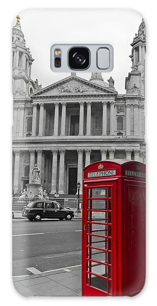 Red Telephone Boxes In London Galaxy Case