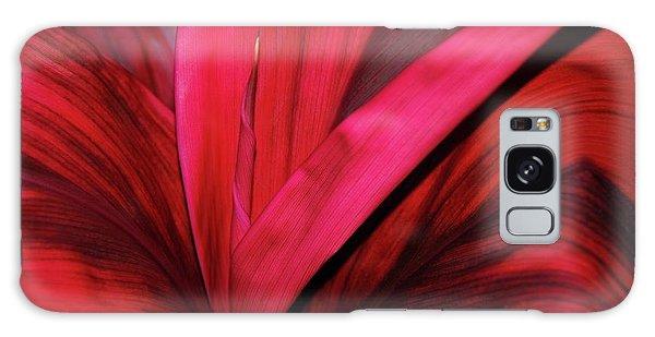 Red Ti Leaf Plant - Hawaii Galaxy Case