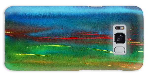 Red Tide Abstract Galaxy Case