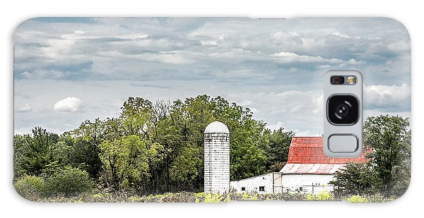 Farmland Galaxy Case - Red Tin Roof by Tom Mc Nemar