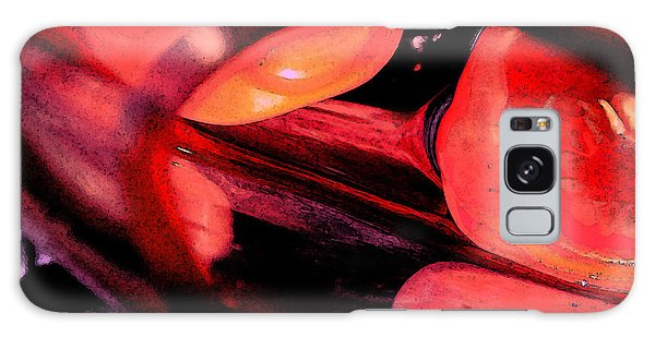 Red Tomatoe Two Galaxy Case