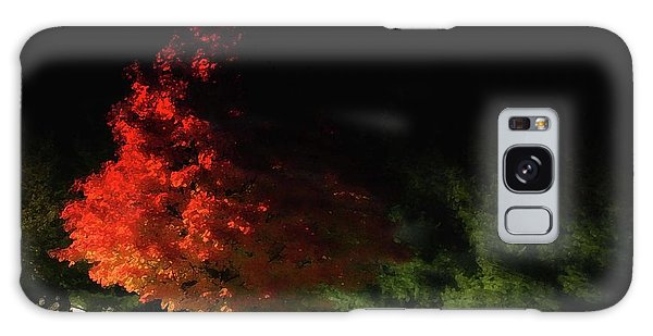 Red Tree Galaxy Case