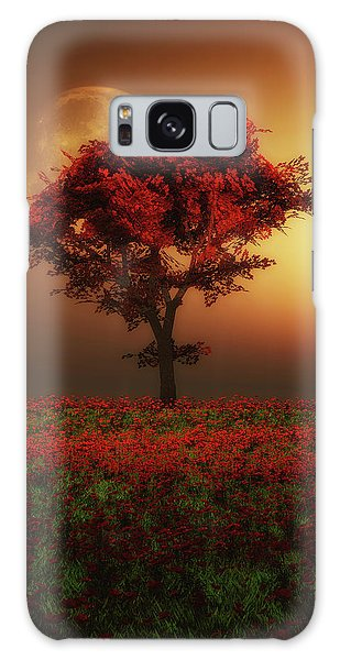 Red Tree In The Evening Galaxy Case