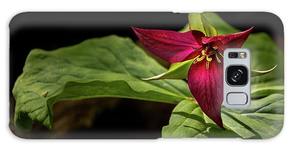 Red Trillium Galaxy Case
