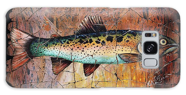 Red Trout Fresco Galaxy Case