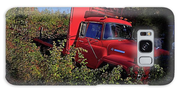 Truck Galaxy Case - Red Truck by Jerry LoFaro