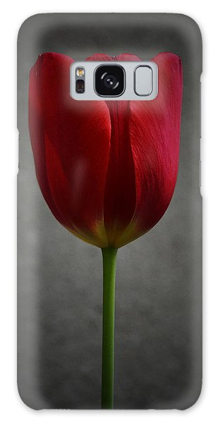 Red Tulip Galaxy Case