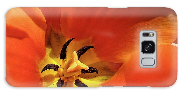 Red Tulip Galaxy Case by Susan Cole Kelly