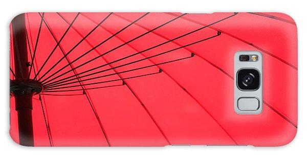 Red Umbrella Abstract Galaxy Case