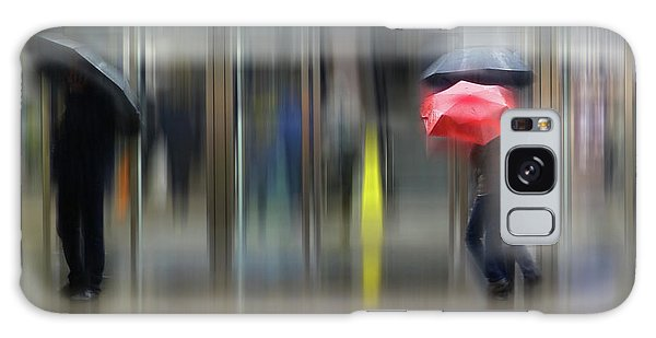 Galaxy Case featuring the photograph Red Umbrella by LemonArt Photography