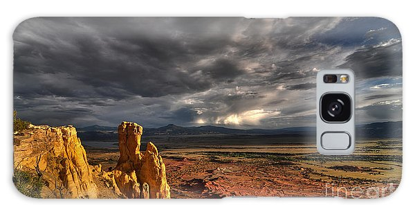 Galaxy Case featuring the photograph Red Valley by Brian Spencer