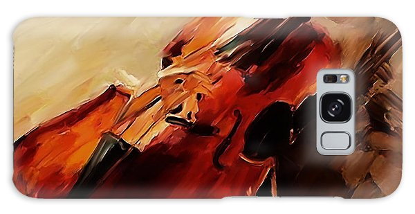 Red Violin  Galaxy Case