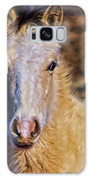 Red Willow Pony Galaxy Case