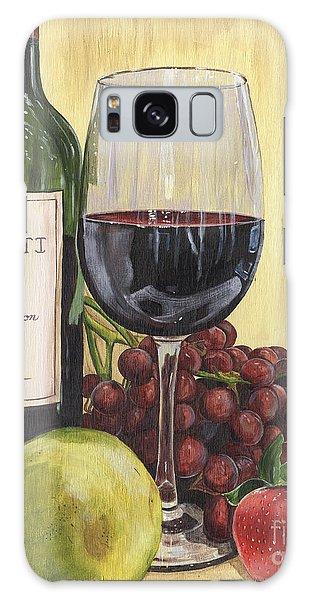 Red Wine And Pear 2 Galaxy Case by Debbie DeWitt