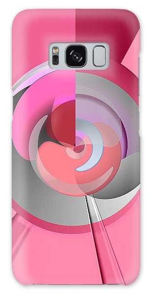 Galaxy Case - Red Wine Wheels by Digital Painting