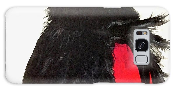 Red Winged Blackbird Galaxy Case