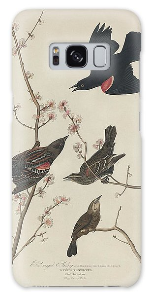 Red-winged Starling Galaxy Case