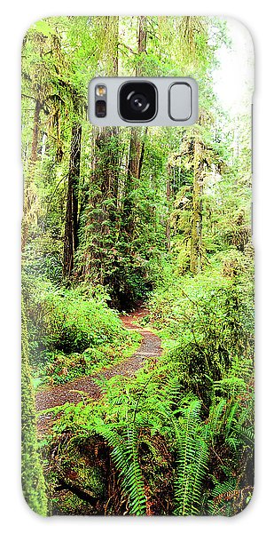 Red Woods Trail Galaxy Case